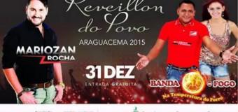 Reveillon do povo Araguacema 2015