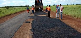 Recuperação asfalto via TO-348 e TO-342