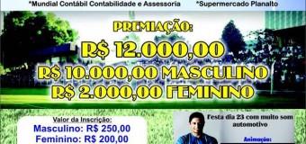 Primeiro campeonato de futebol society de Araguacema